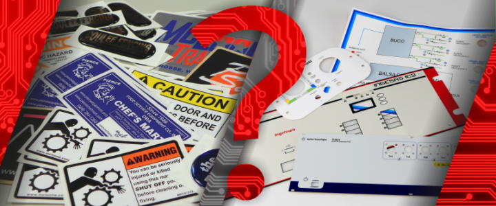 Labels – weighing up vinyl and polycarbonate labels